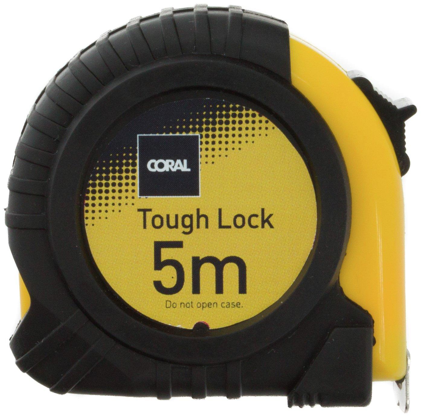 Coral - Tough Lock Pocket Tape Measure - 5 Metre Review thumbnail