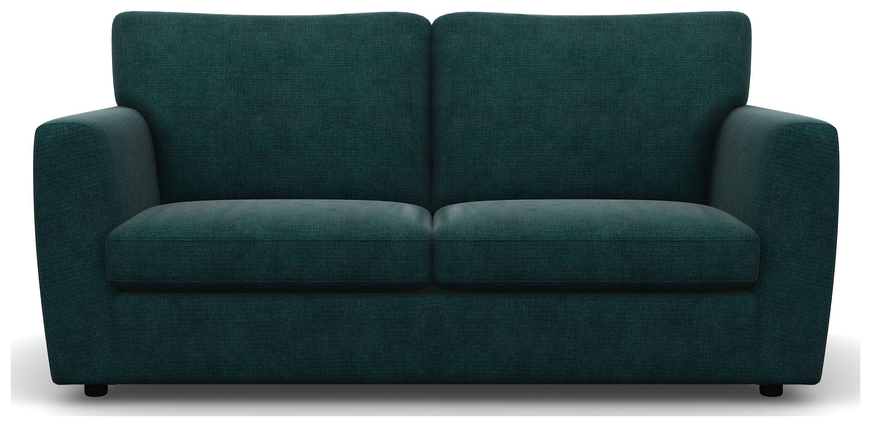 Heart of House Lucas 3 Seater Fabric Sofa - Ocean. Review thumbnail